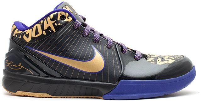 Nike Kobe 4 NBA Final MVP Away - 354187-001