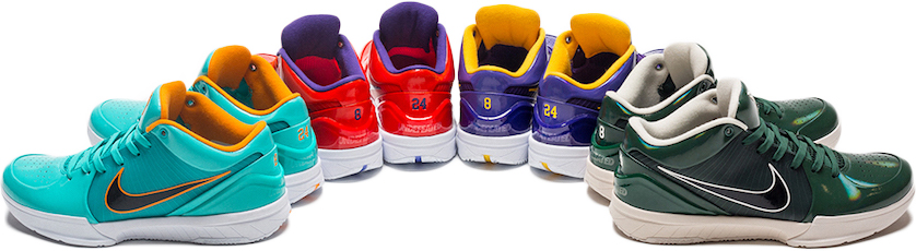 Kobe 4 Protro Undefeated Pack - Sneakers