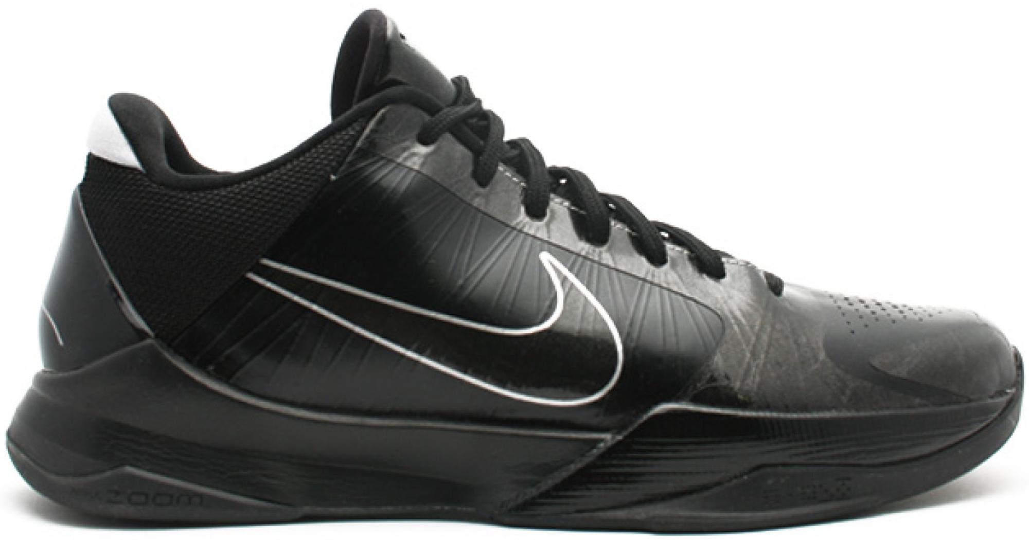 Nike Kobe 5 Blackout - 386429-003