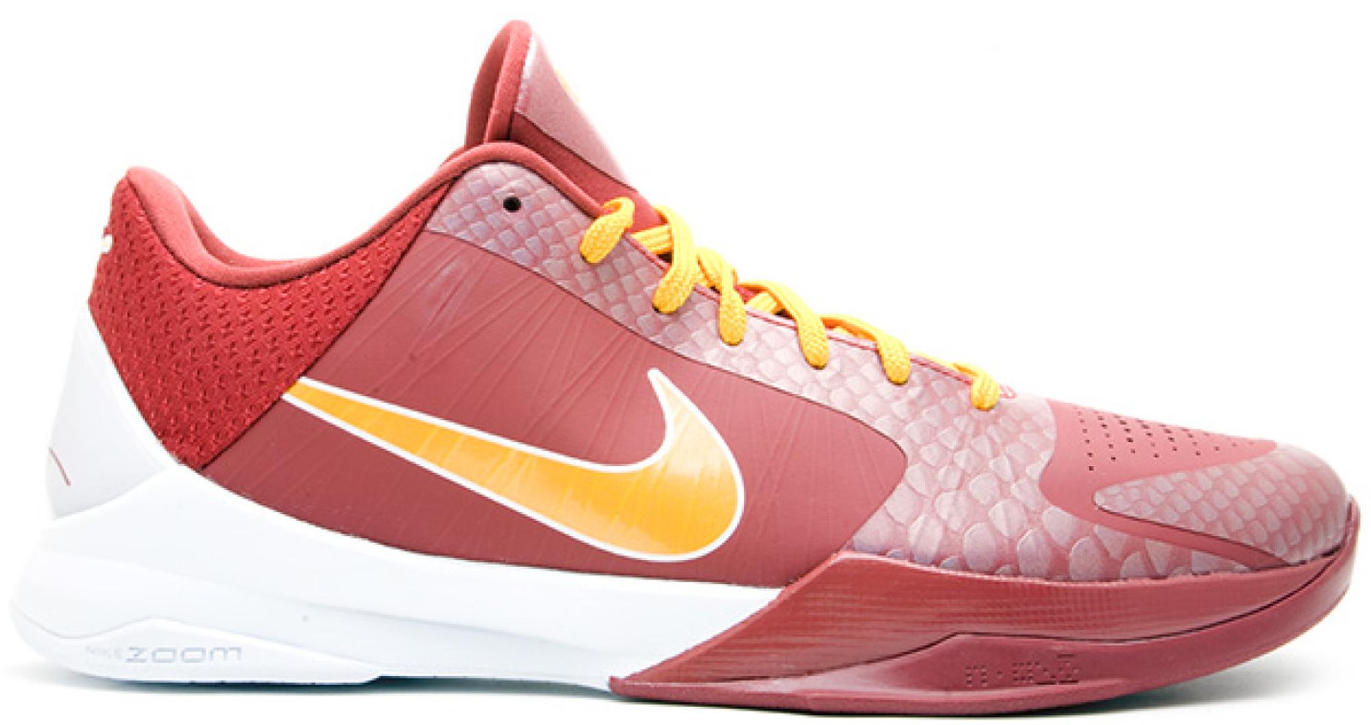 Nike Kobe 5 USC Trojans - 386429-602