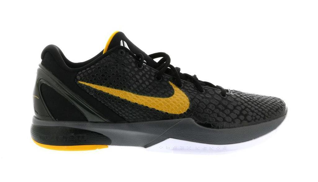 Nike Kobe 6 Black Del Sol - 429659-002