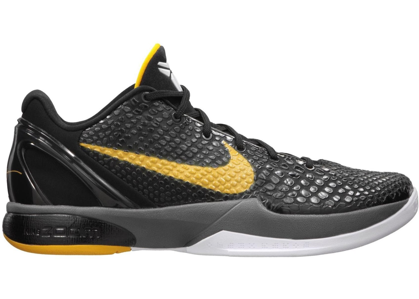 hot sale online 2cc1e 8237d Kobe 6 Black Del Sol - 429659-002