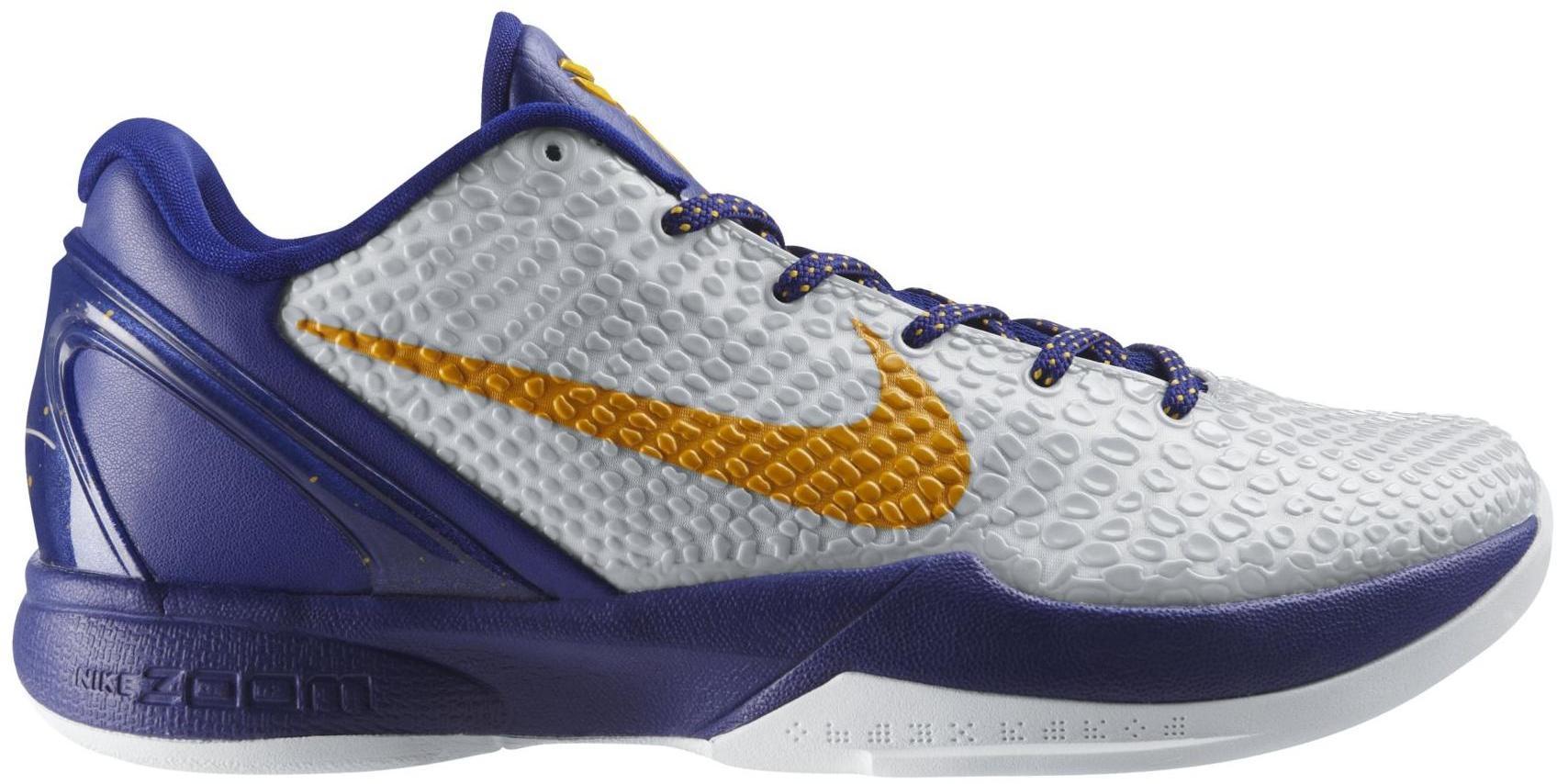Nike Kobe 6 Lakers Home - 429659-104