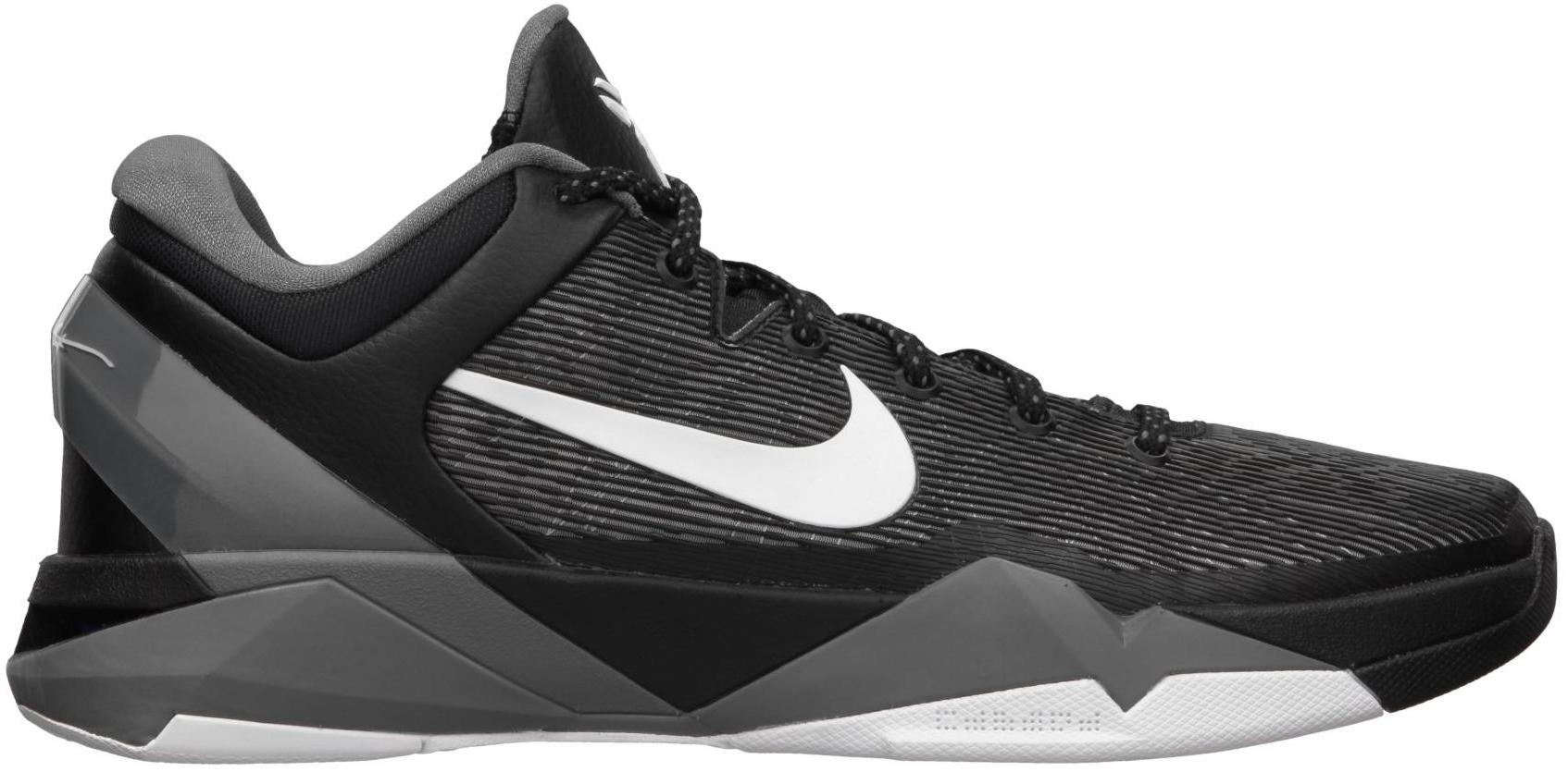 Nike Kobe 7 Black White Wolf Grey