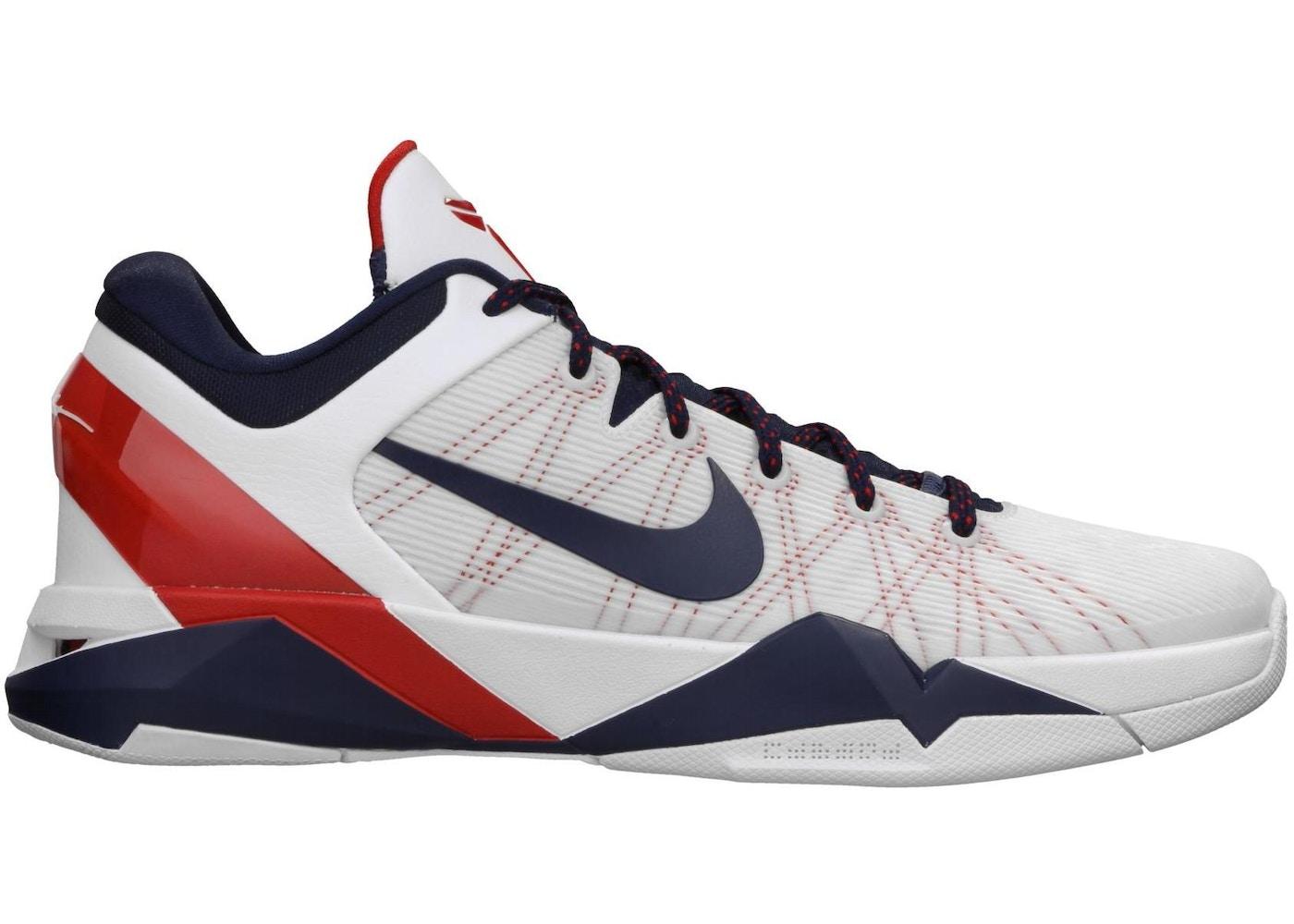 premium selection 9e2b5 b1a55 ... Kobe 7 USA Olympic Nike ...