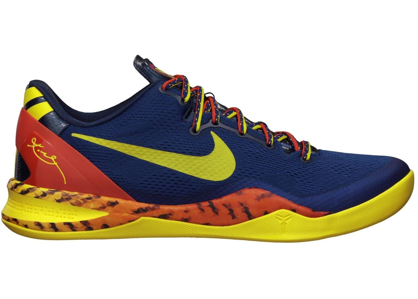 uk availability f4154 b9121 Kobe 8 Barcelona Tiger - 555035-402