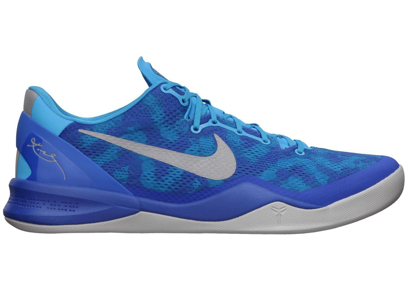 detailed look a8a64 29804 Kobe 8 Blue Glow - 555035-400