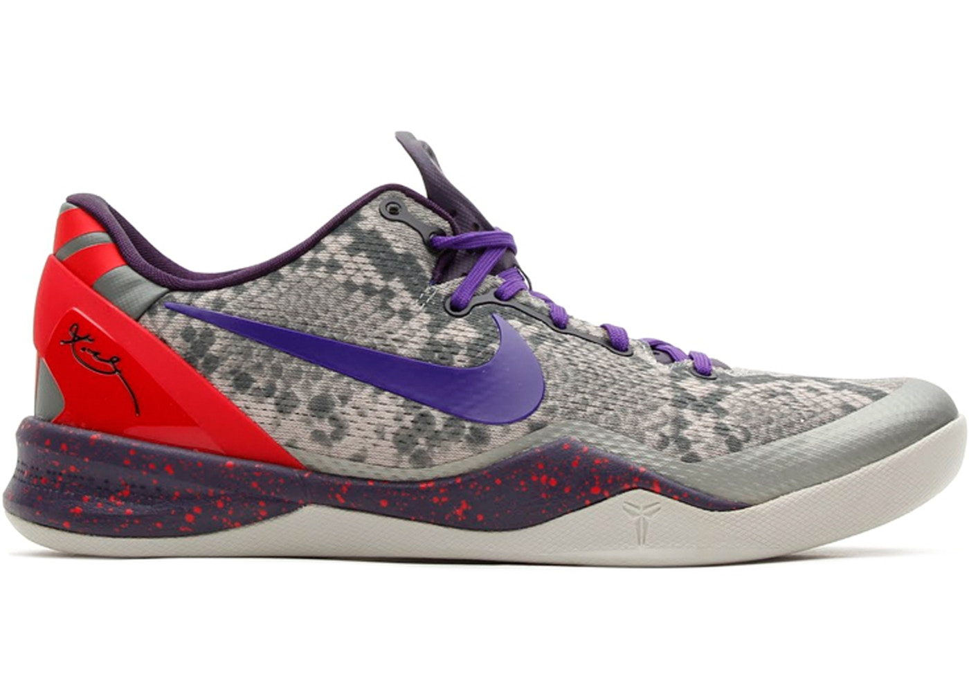 buy popular 71ffd 4f7fe Kobe 8 Mine Grey - 555035-003