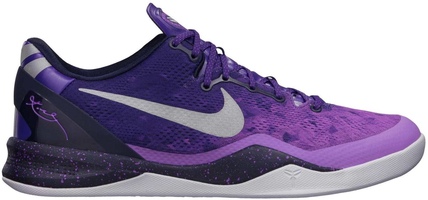 Kobe 8 Playoffs Purple Platinum