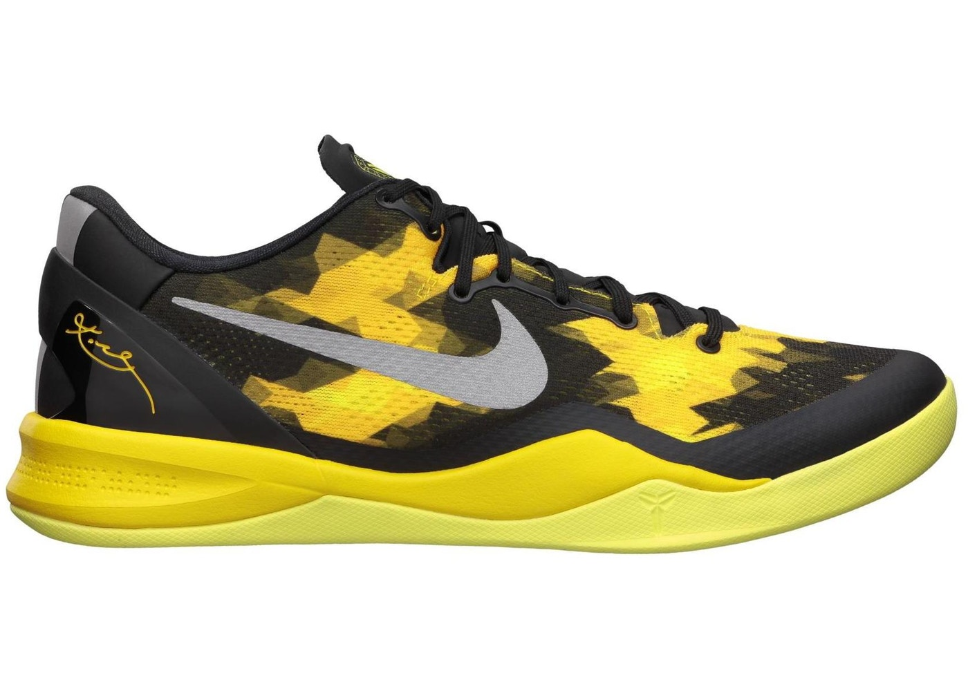 8d8dfd61ac3b Kobe 8 Sulfur   Electric - 555035-001