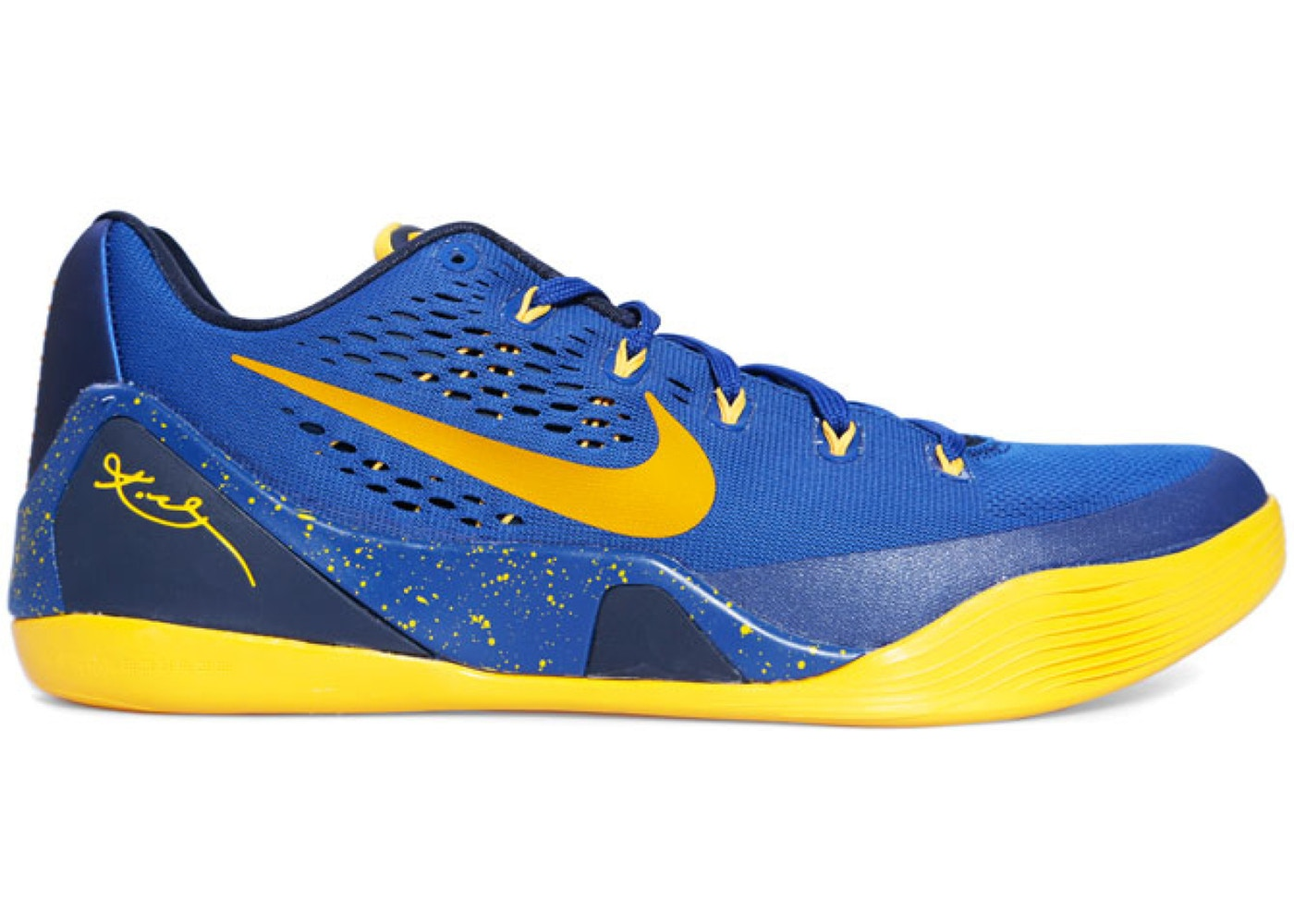 the best attitude 82713 55aab Kobe 9 EM Gym Blue University Gold