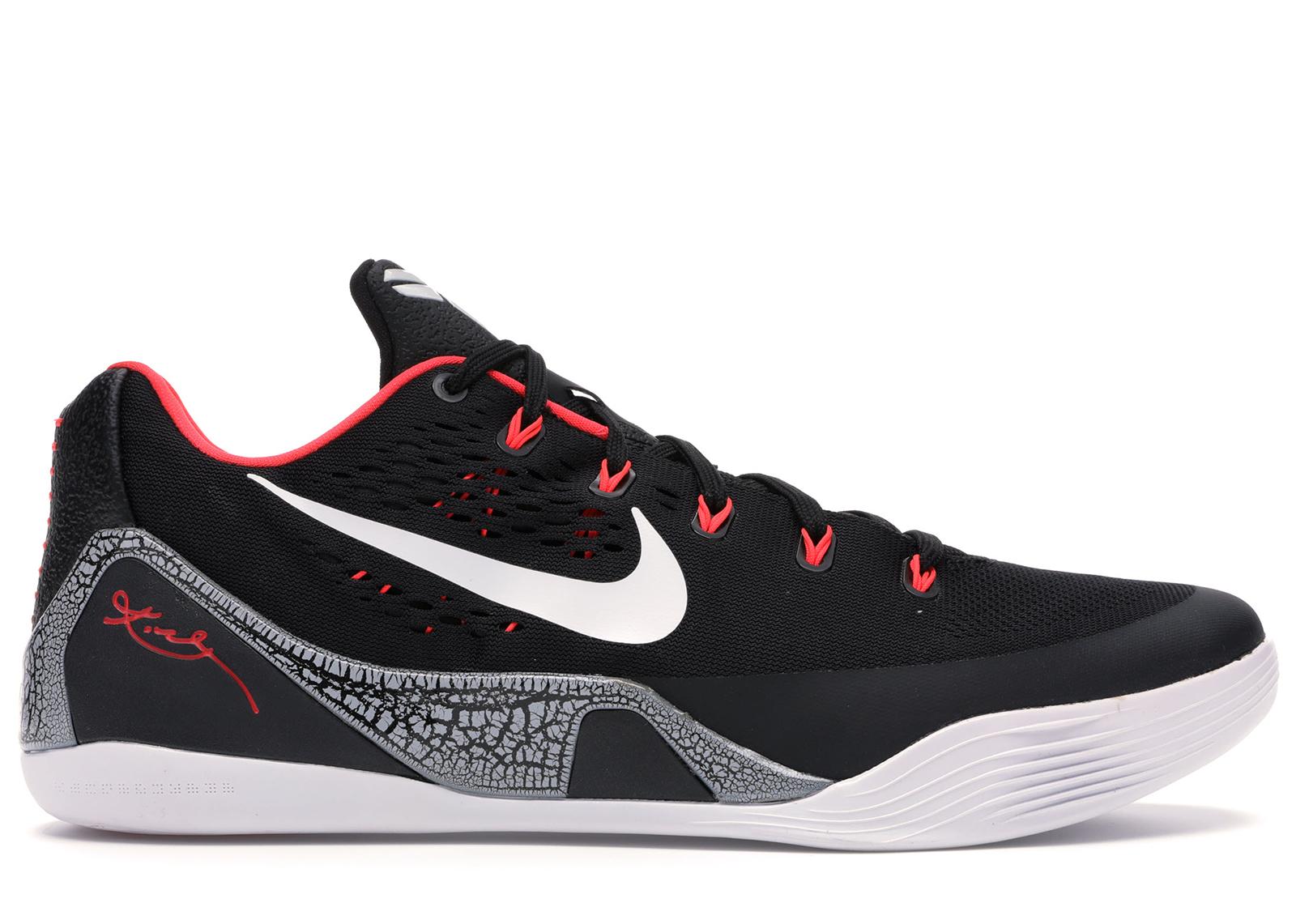 Nike Kobe 9 EM Low Laser Crimson