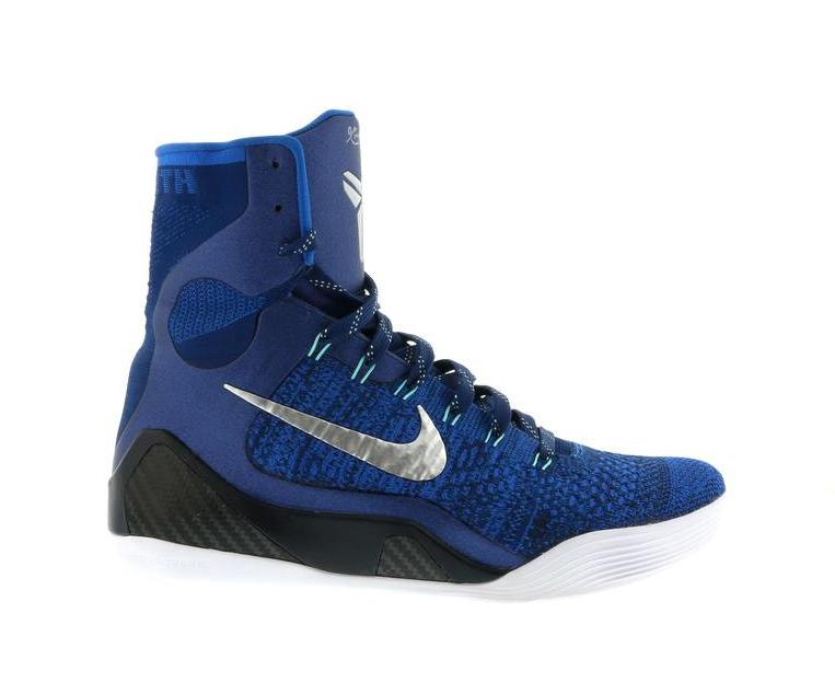 kobe shoes blue and white