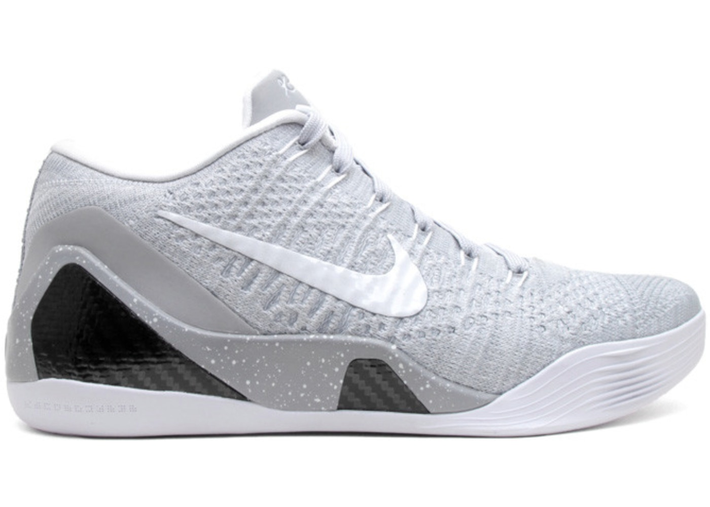 reputable site 925f1 c38ee Kobe 9 Elite Premium Low HTM Milan Grey - 698595-010