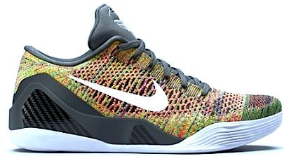 Kobe 9 Elite Low Multicolor (NikeID)(Black Tongue)