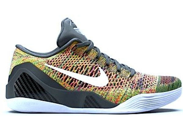 c07cb6708625 Kobe 9 Elite Low Multicolor (NikeID)(Black Tongue)
