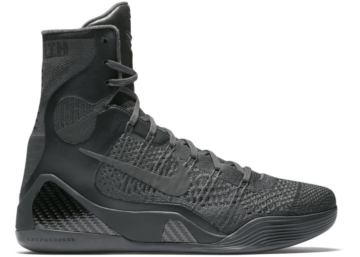 cheap for discount 4b709 20bf3 Kobe 9 Elite Black Mamba Collection Fade to Black - 869455-002