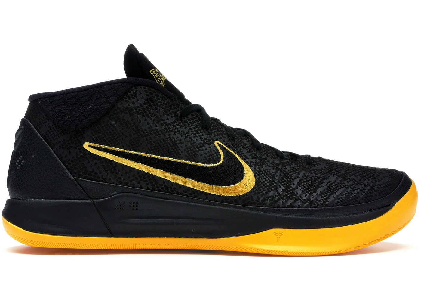 official photos ad0a3 99766 Kobe A.D. Lakers Black Mamba - AQ5164-001