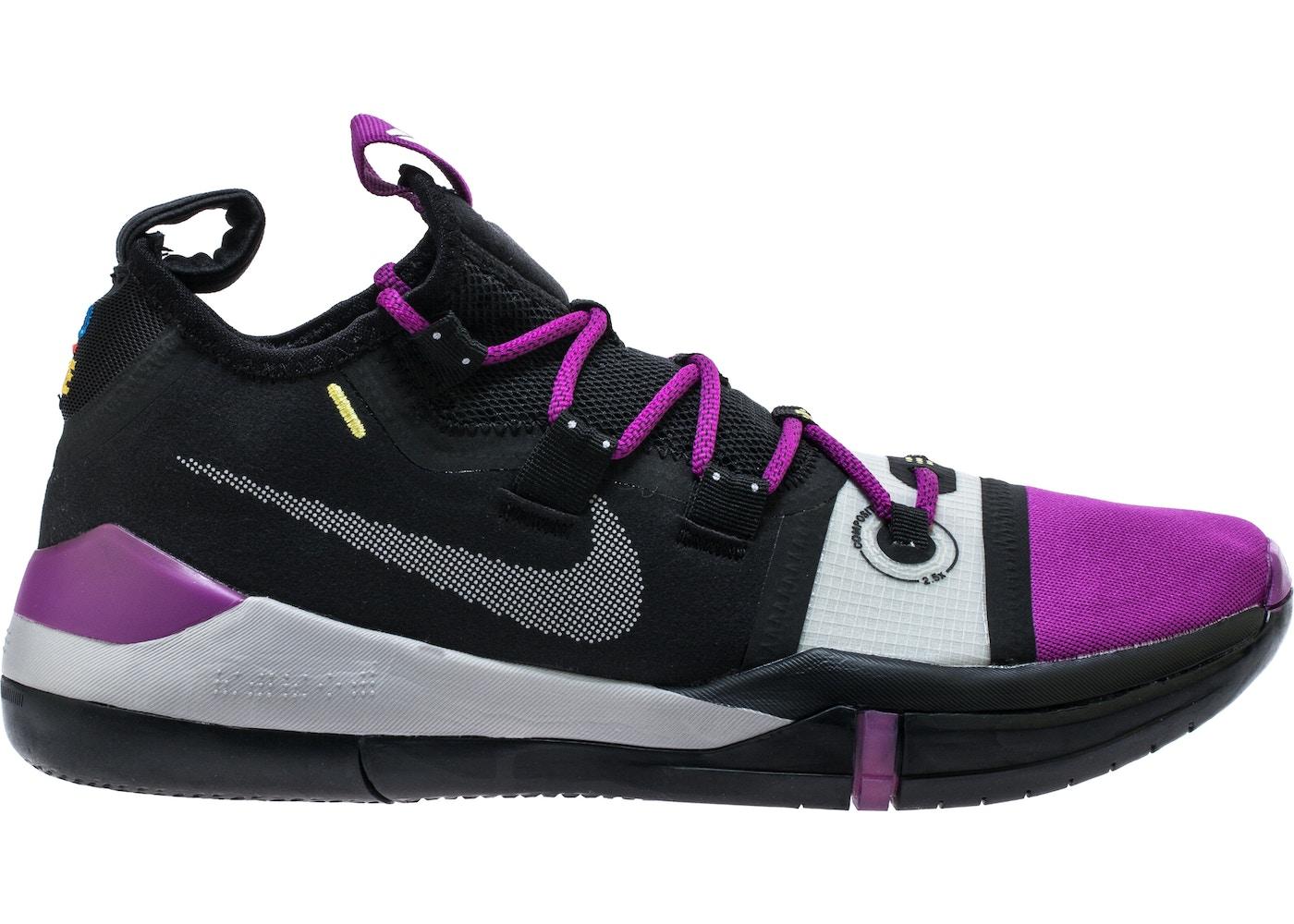 new product 0cd49 e9eb5 Kobe AD Black Purple