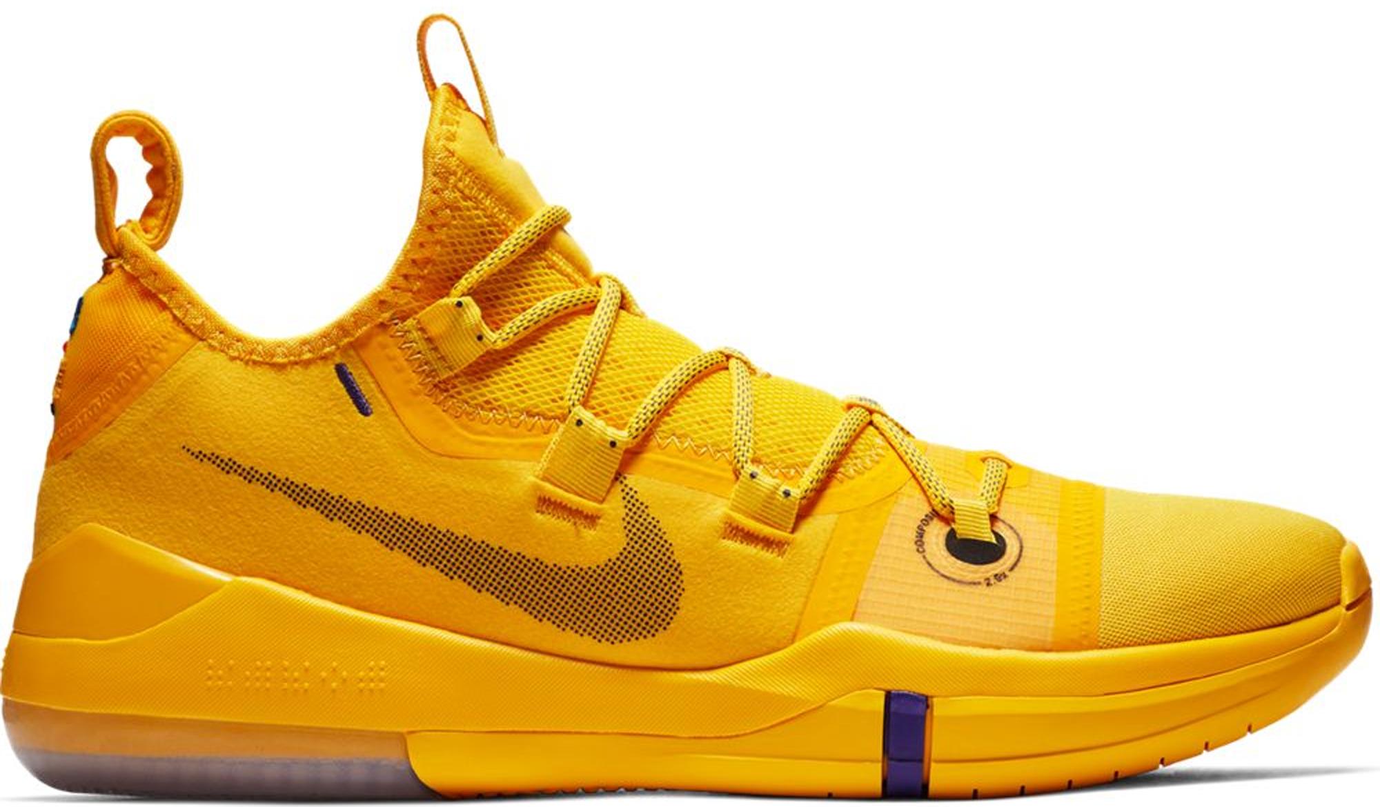Nike Kobe AD Lakers Amarillo - AR5515-700