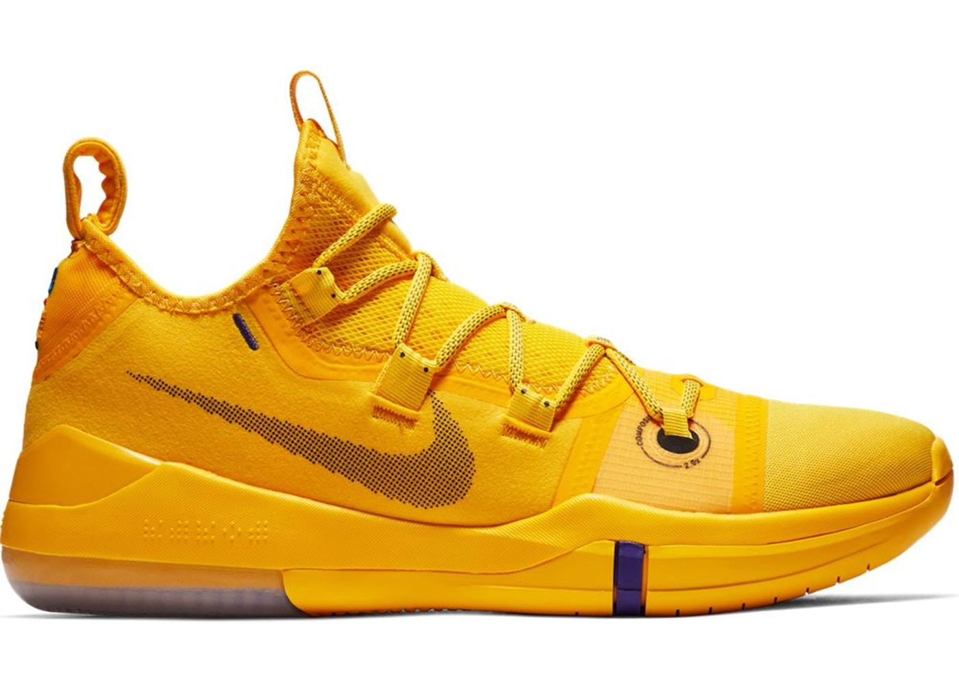 Nike Kobe amarillo