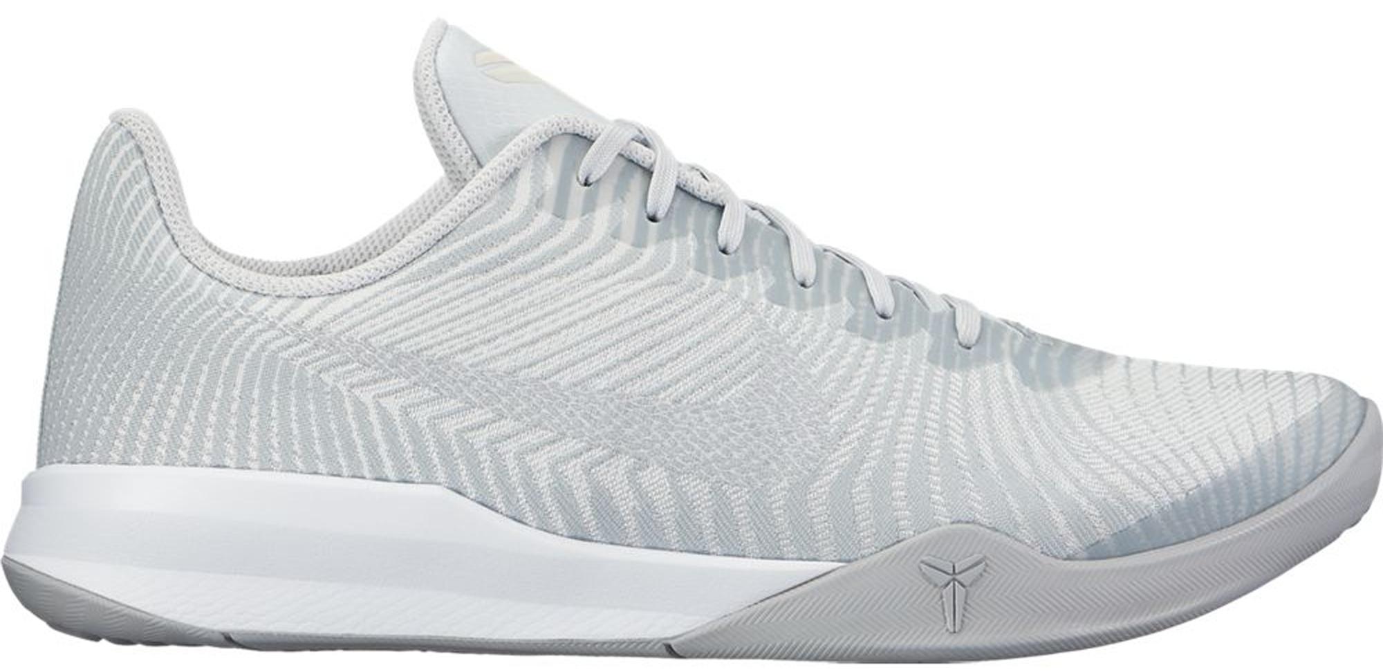 Nike Kobe Mentality 2 White Grey