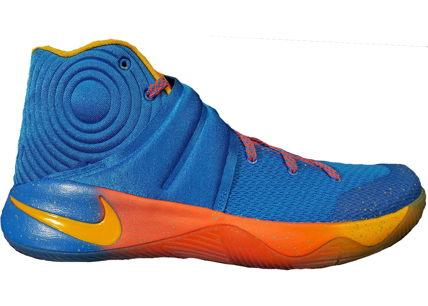 Nike Kyrie 2 EYBL Promo Sneakers (Photo Blue/University Gold-Black)