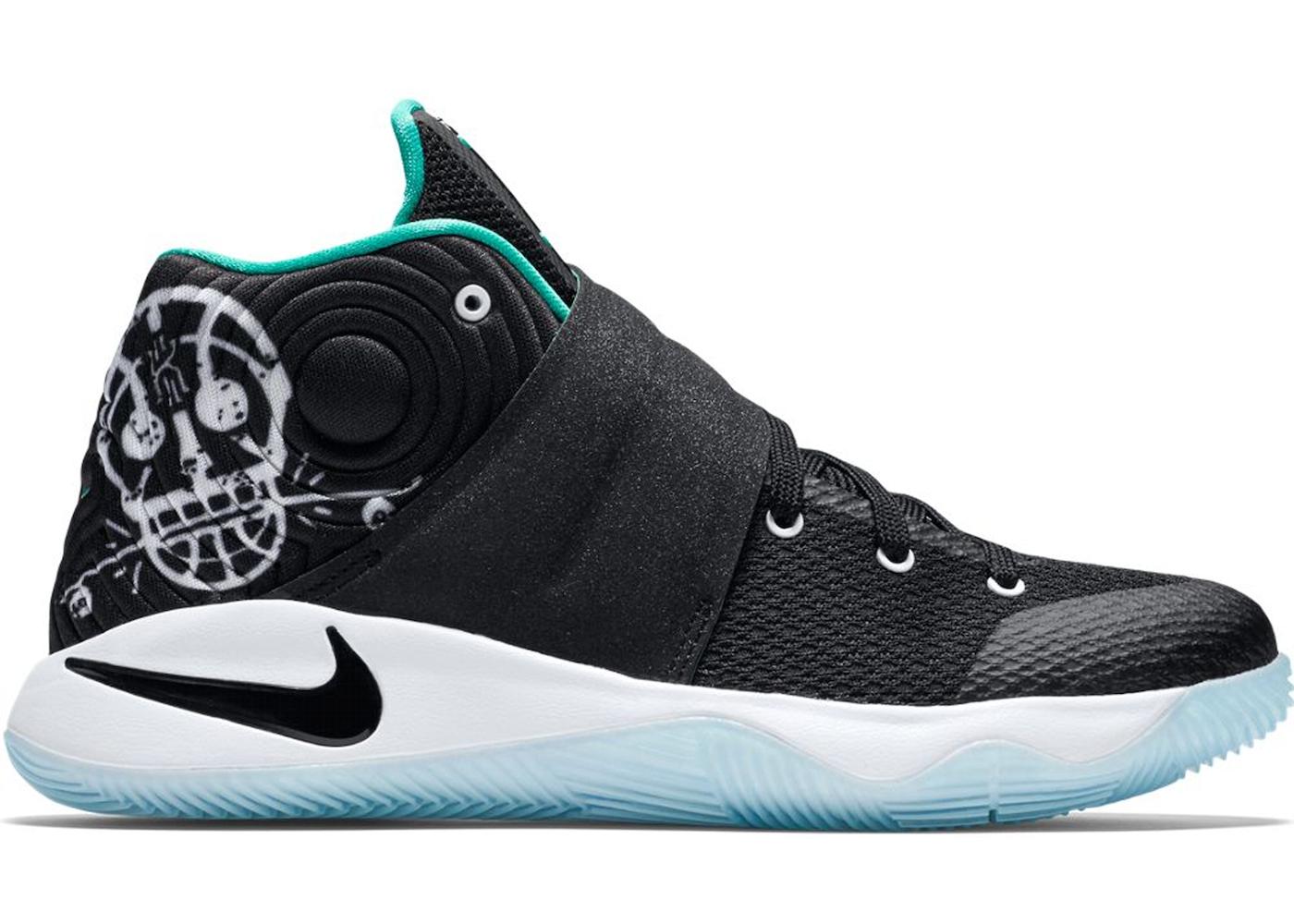 Nike Kyrie 2 Skateboard BlackWhite 826673001