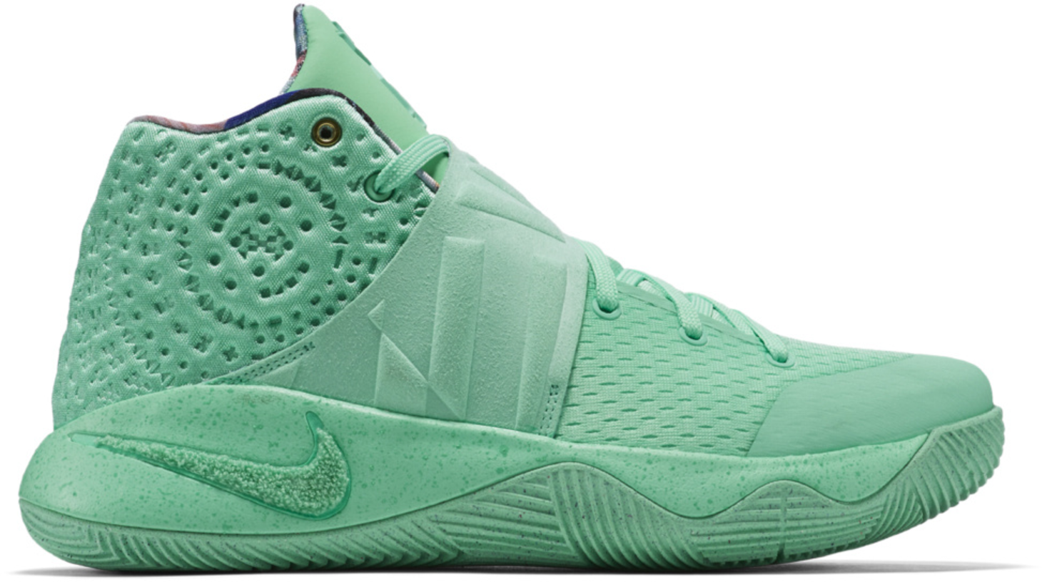 Kyrie 2 What The Kyrie Green Glow