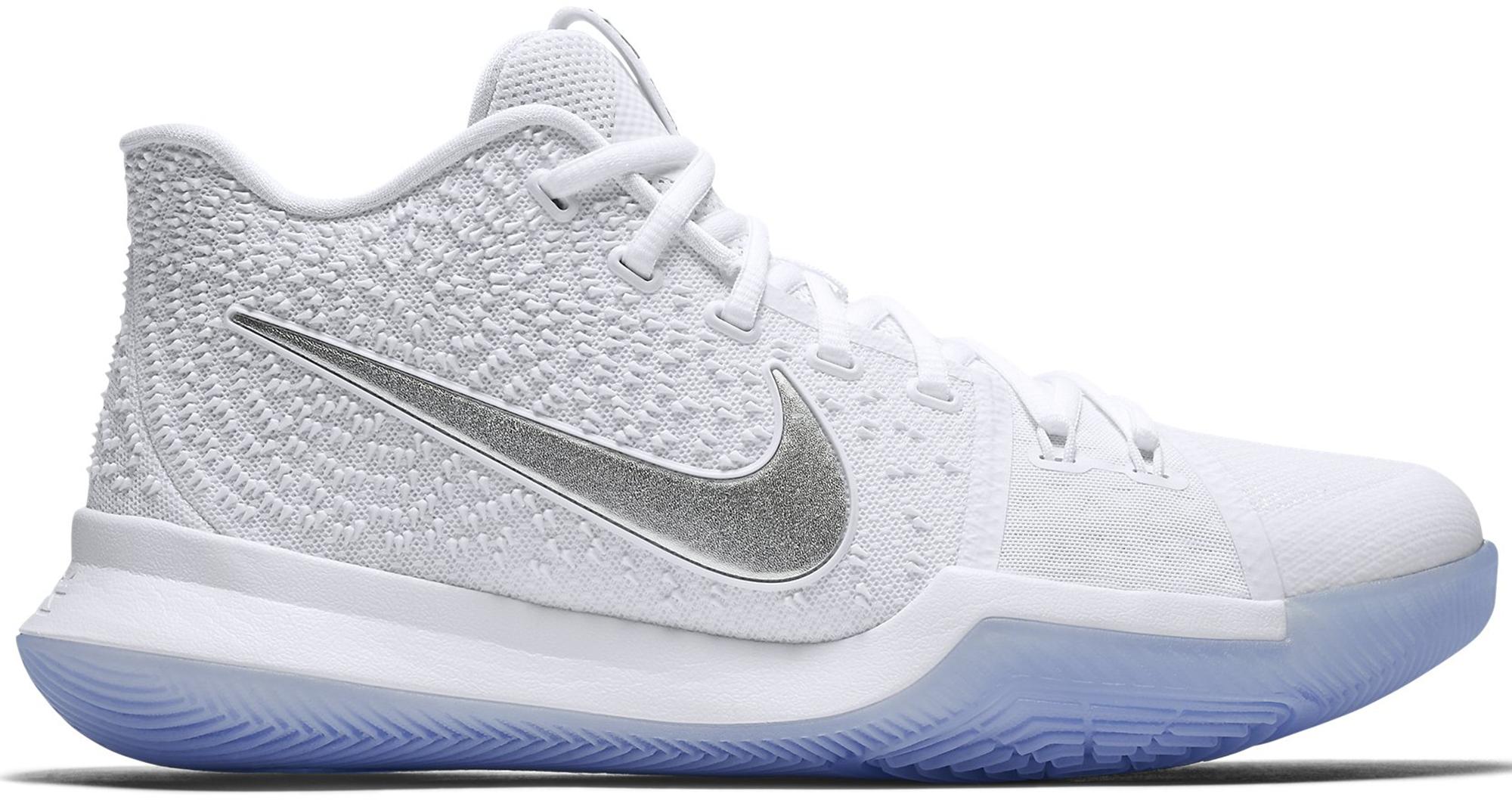 Nike Kyrie 3 White Chrome - 852395-103