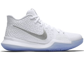 competitive price c2aa2 2caf7 Kyrie 3 White Chrome
