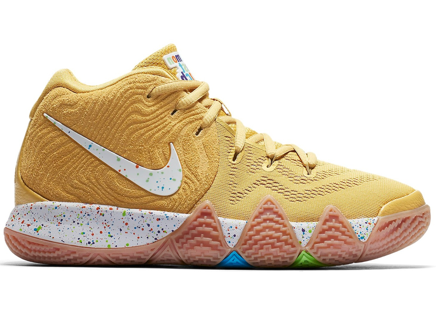factory price 2c449 a1673 HypeAnalyzer · Kyrie 4 Cinnamon Toast Crunch (GS)