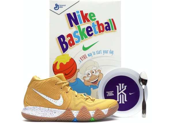 outlet store 53e8e 2644c Kyrie 4 Cinnamon Toast Crunch (Special Cereal Box Package ...