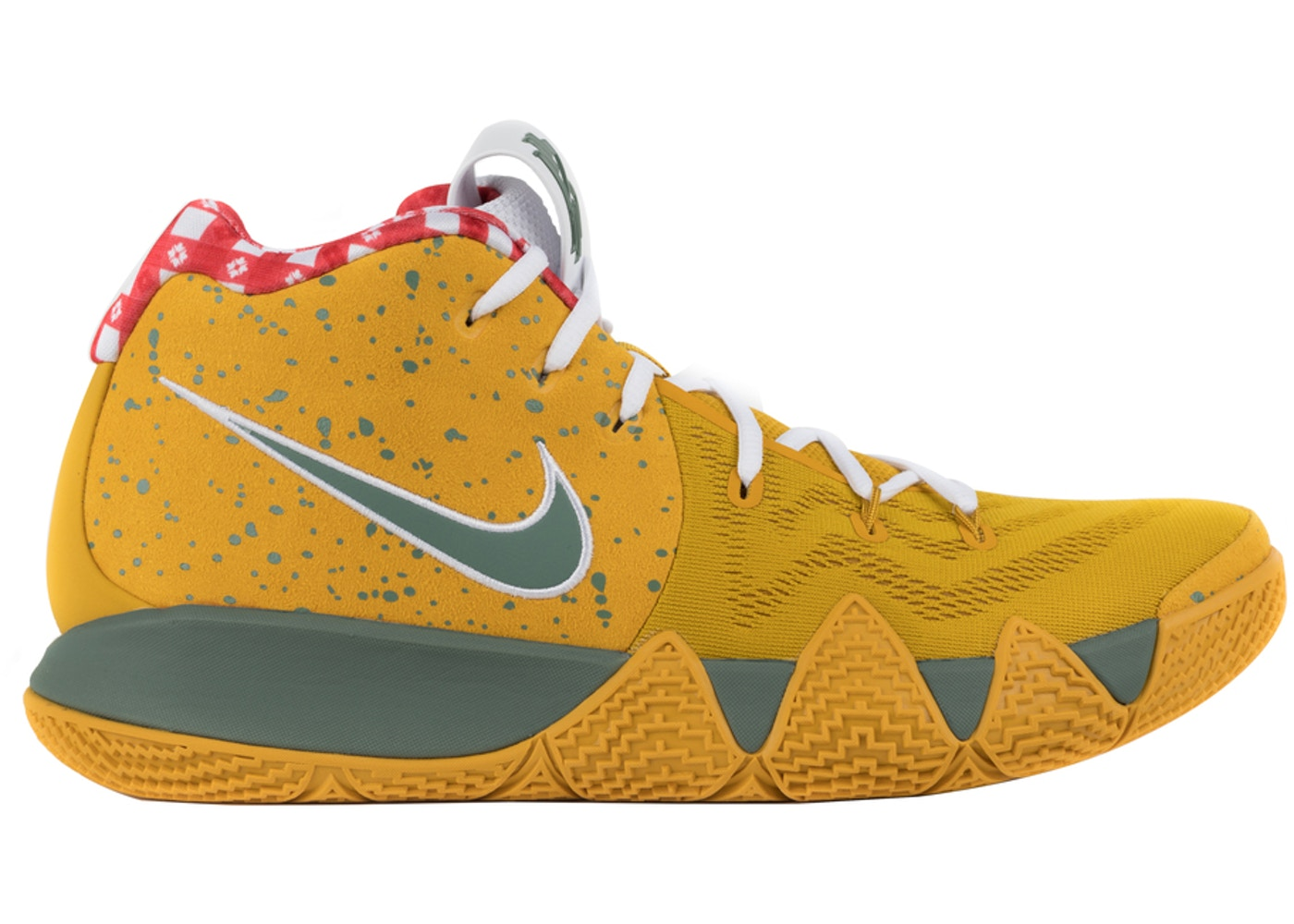 watch 220ea ad3a8 Kyrie 4 Concepts Yellow Lobster