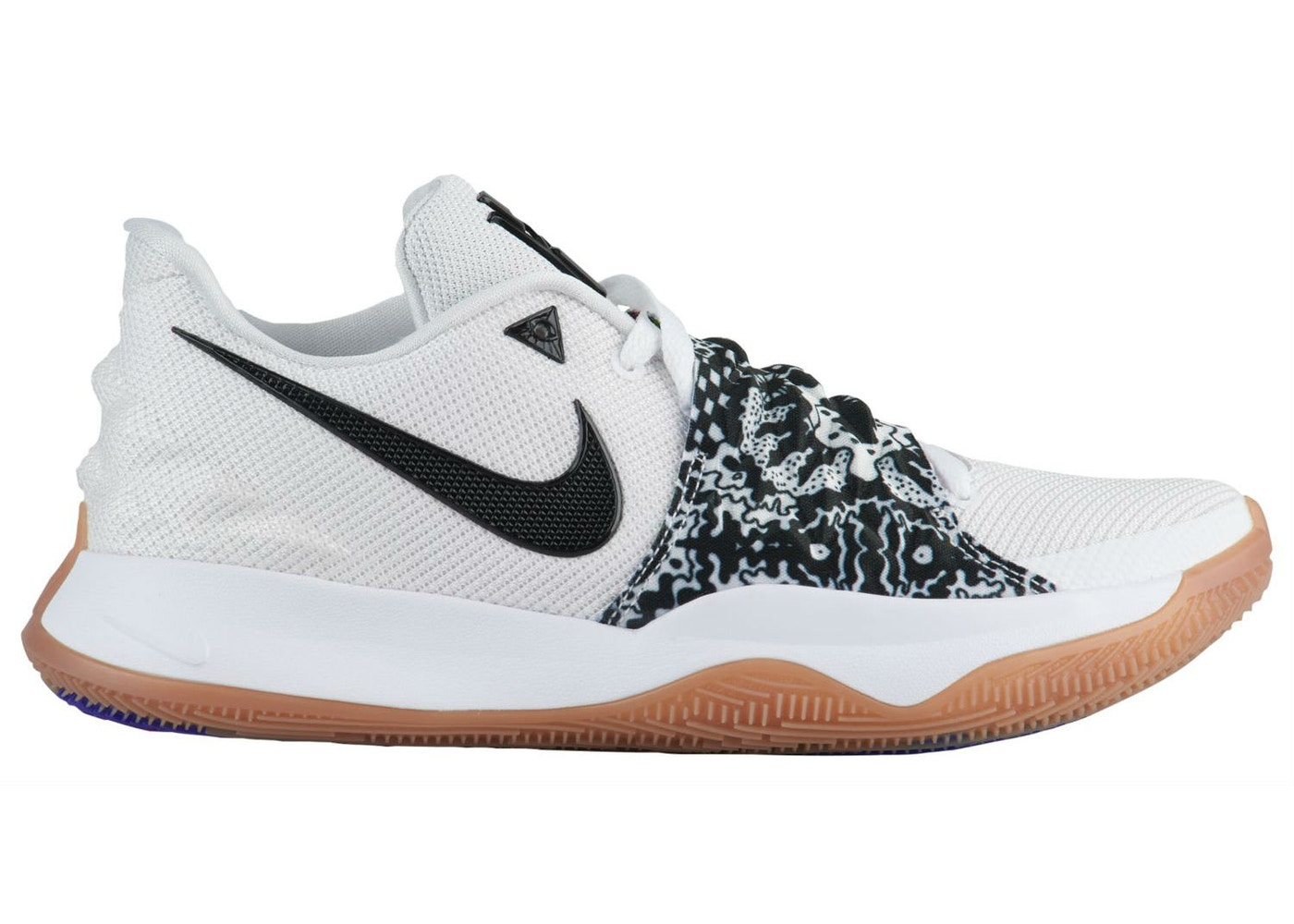 a34a2b066c83 Kyrie 4 Low White Black - AO8979-100