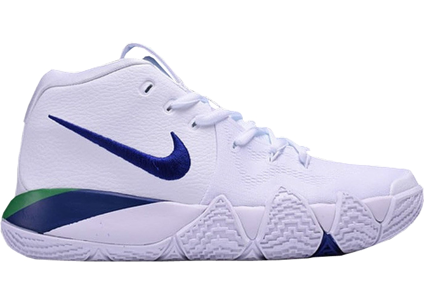 sports shoes e5ef4 44afd HypeAnalyzer · Kyrie 4 White Deep Royal Blue