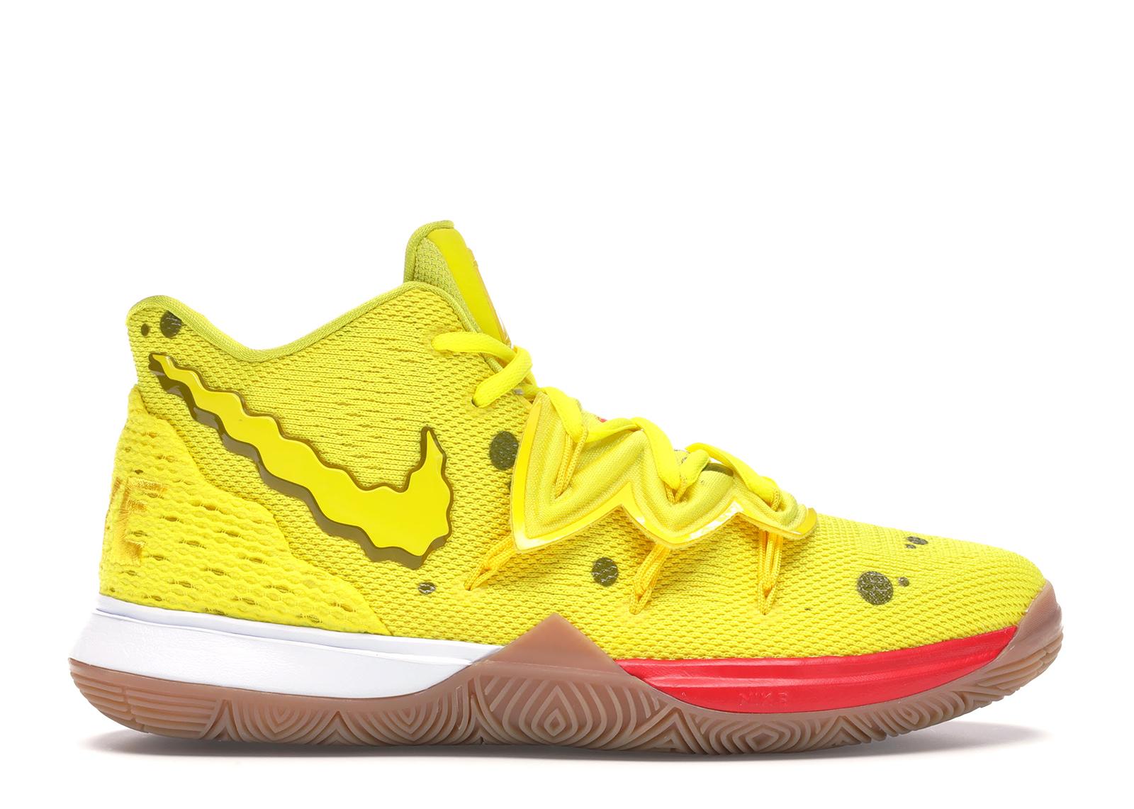 Nike Kyrie 5 Spongebob (GS) - CJ7227-700