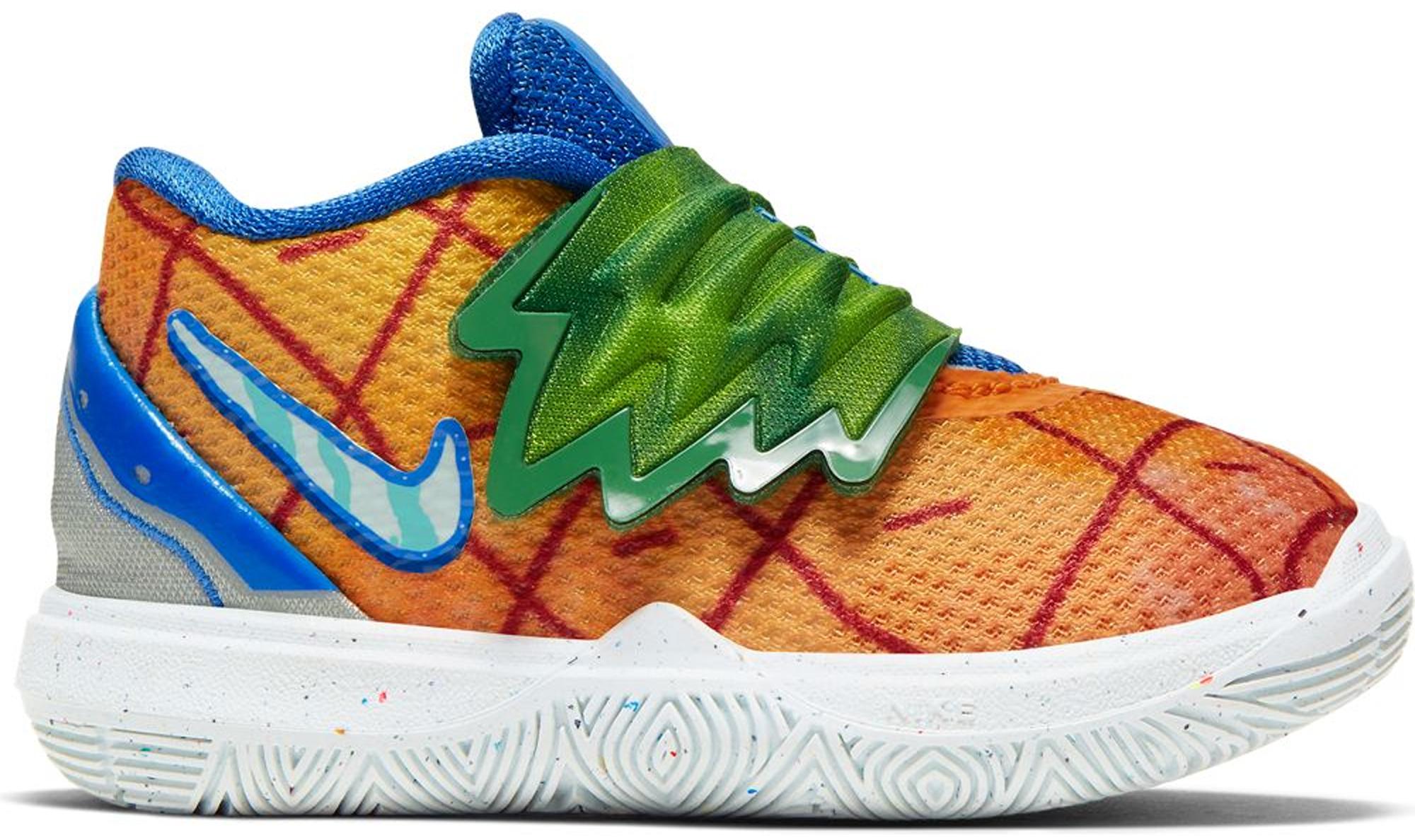 Nike Basketball Kyrie Spongebob Shoes
