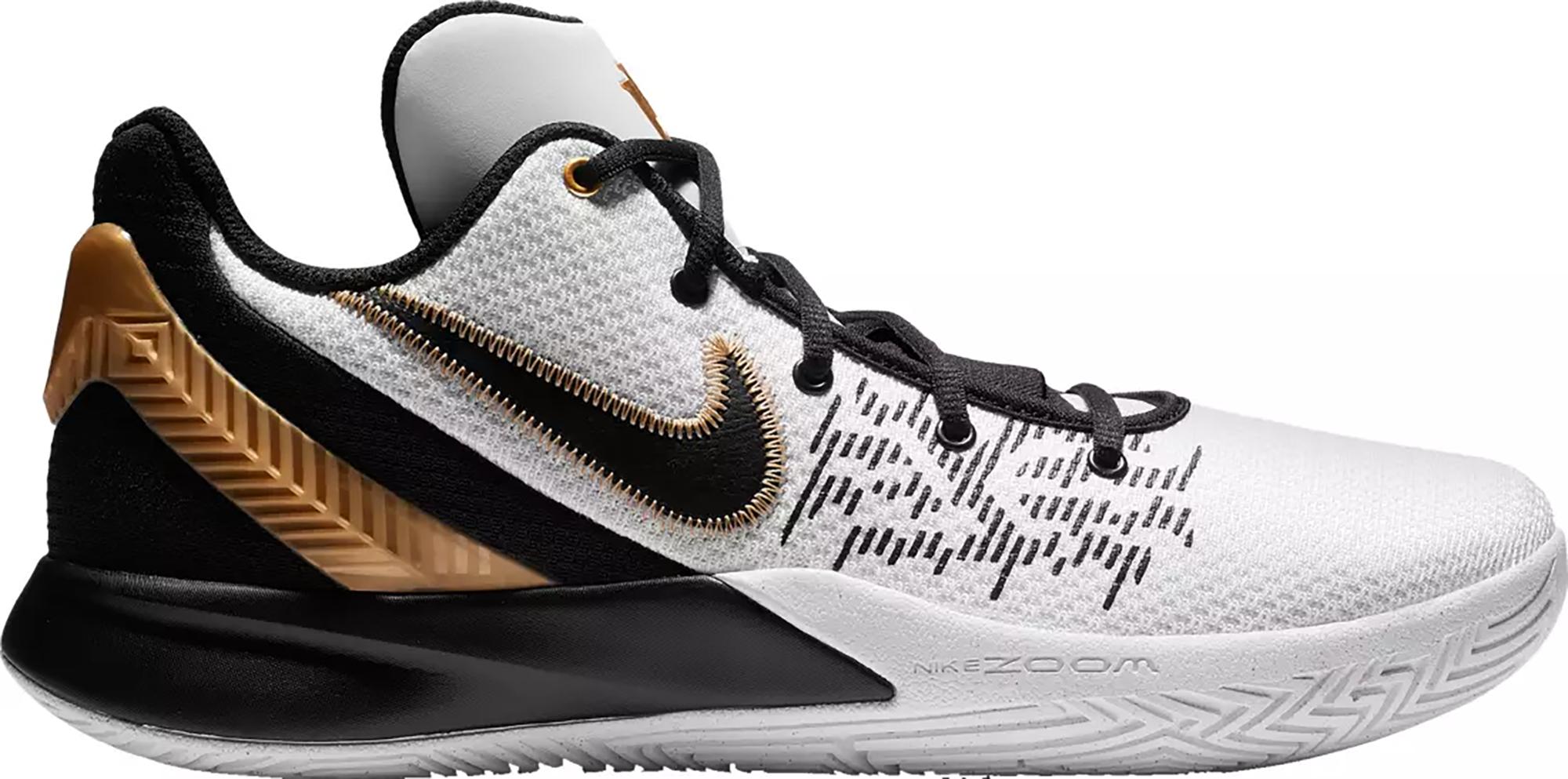 Nike Kyrie Flytrap 2 White Black Gold