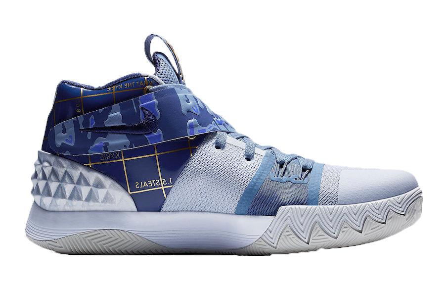 Nike Kyrie S1 Hybrid Blue/Gold - AJ5165-902