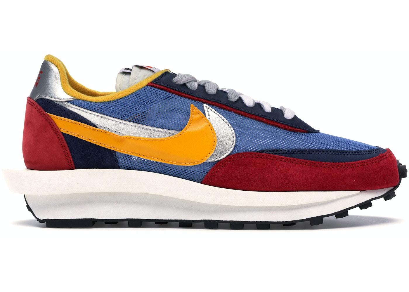 size 40 fe23a 8b9ac Nike LD Waffle Sacai Blue Multi - BV0073-400