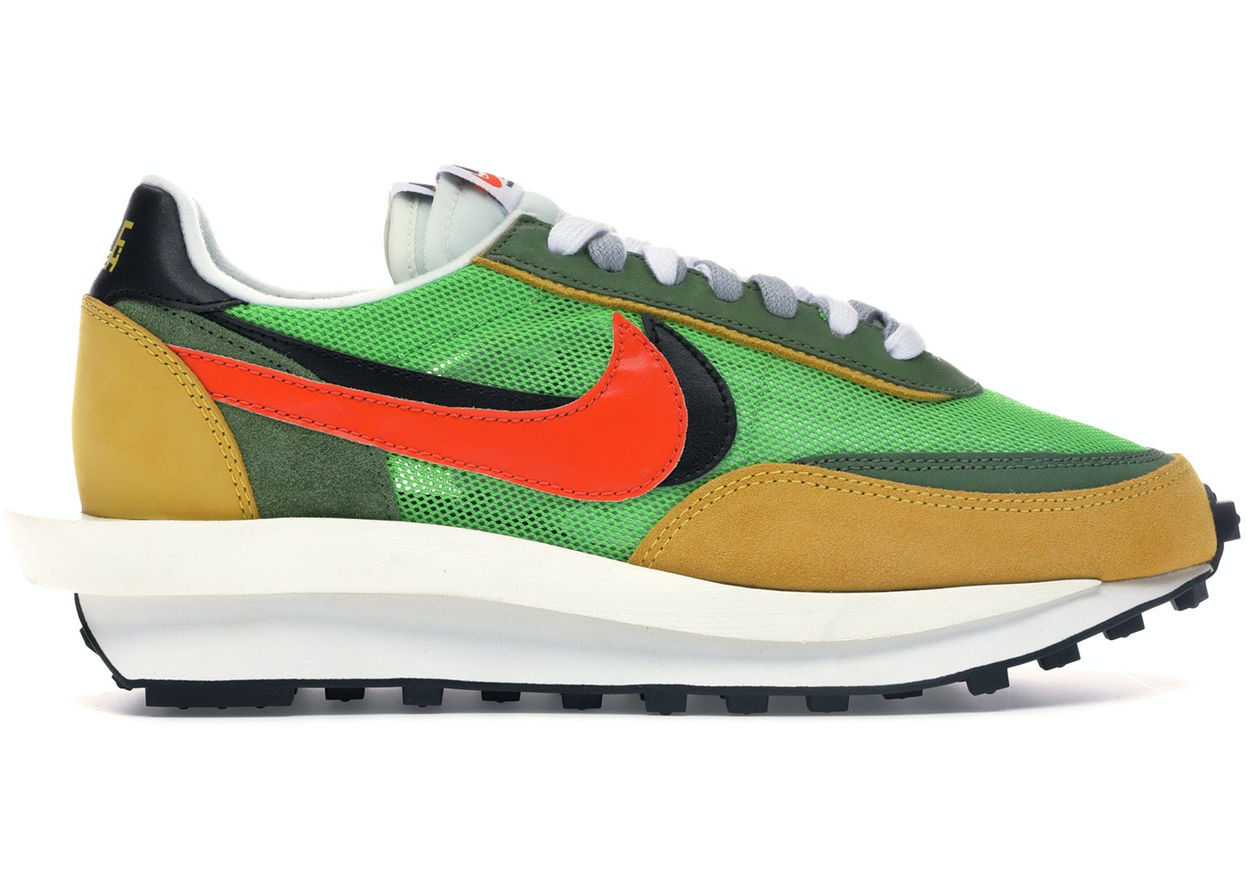 94106d1eb7 Nike LD Waffle Sacai Green Multi