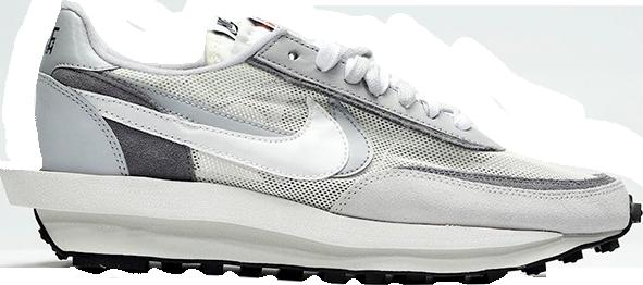 Nike LD Waffle Sacai White Grey • Buy