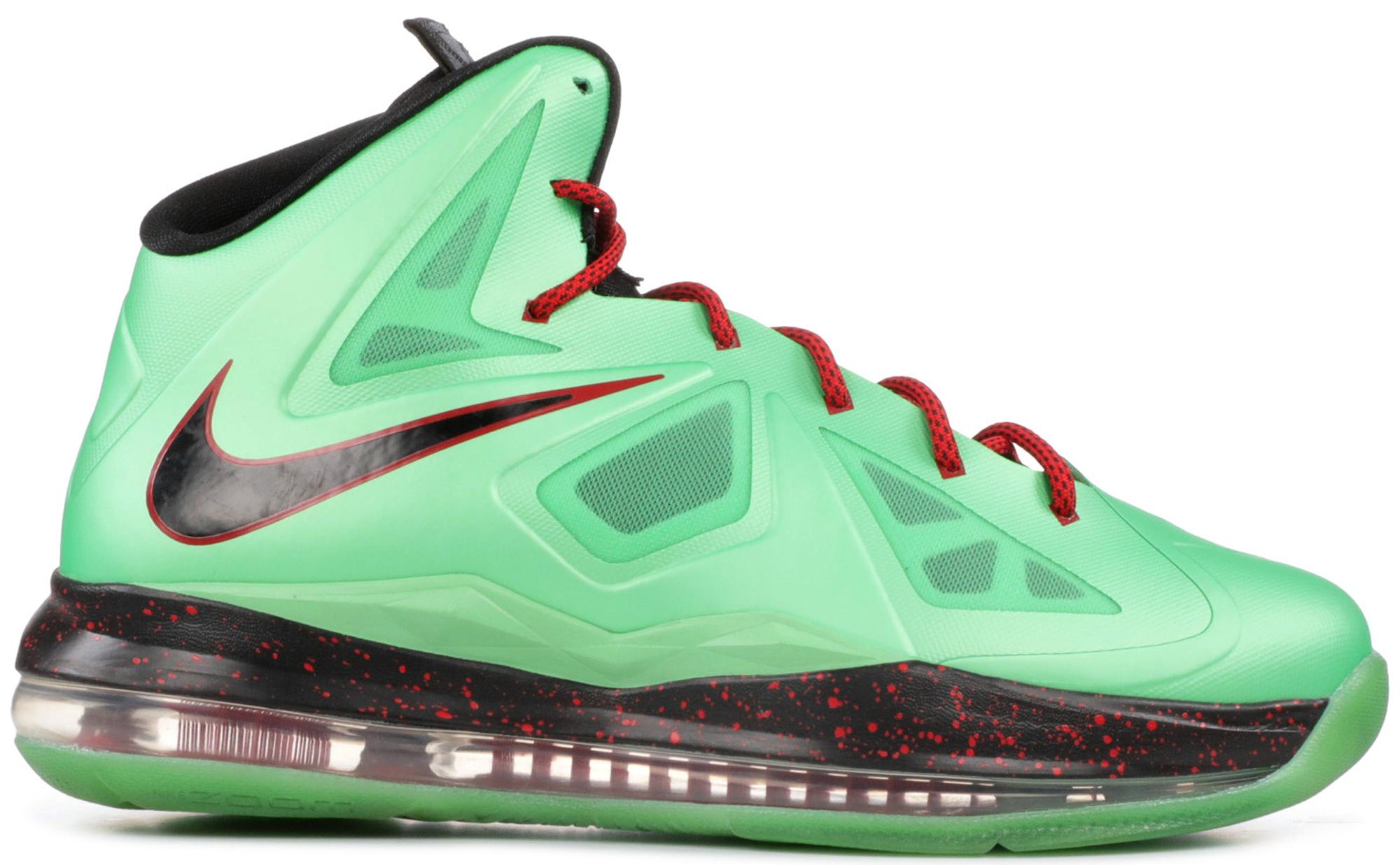 Nike LeBron 10 Cutting Jade (GS
