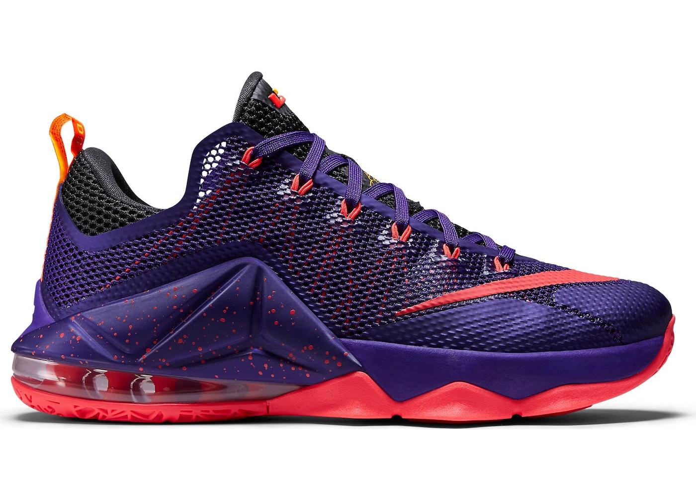 LeBron 12 Low Court Purple - 724557-565 552863992a10