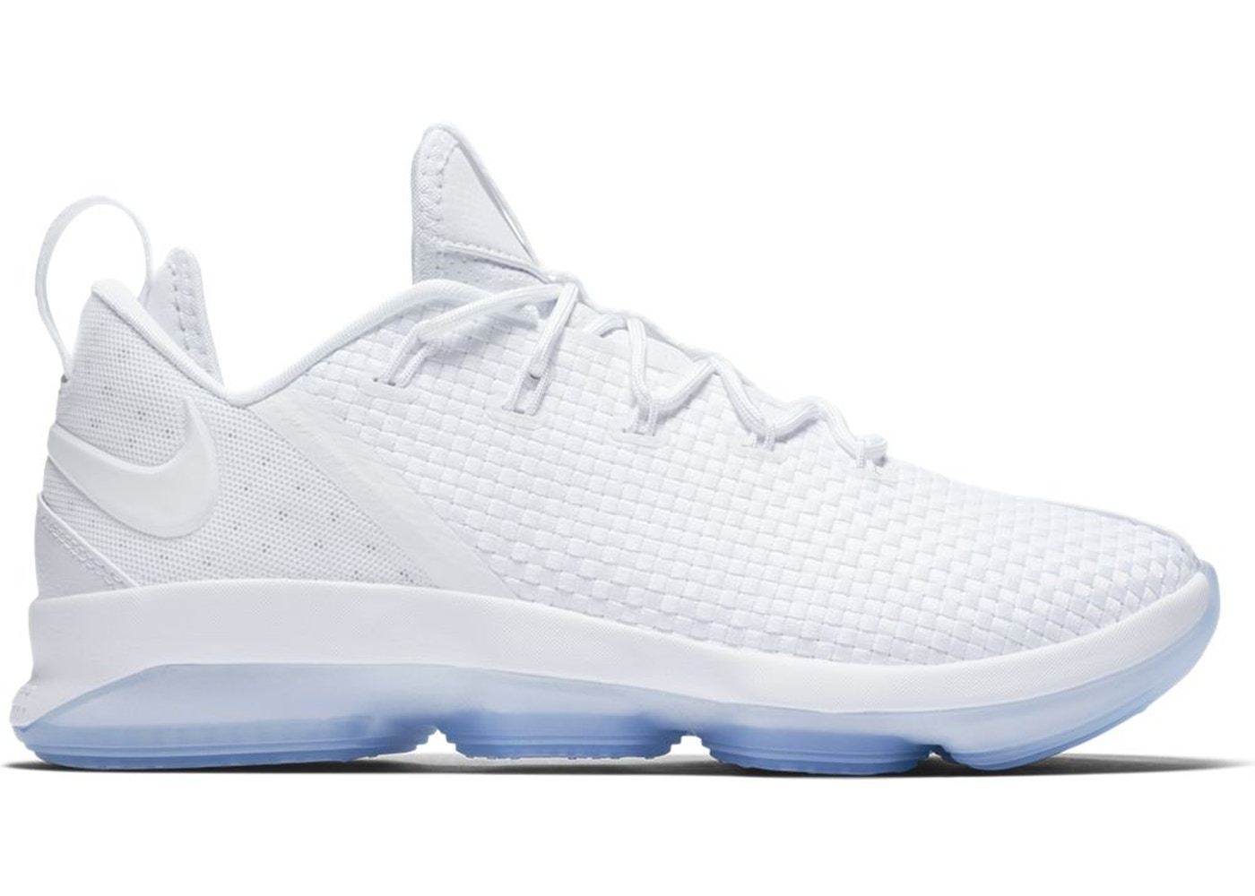 c9b6e95bf8e LeBron 14 Low White Ice - 878636-101