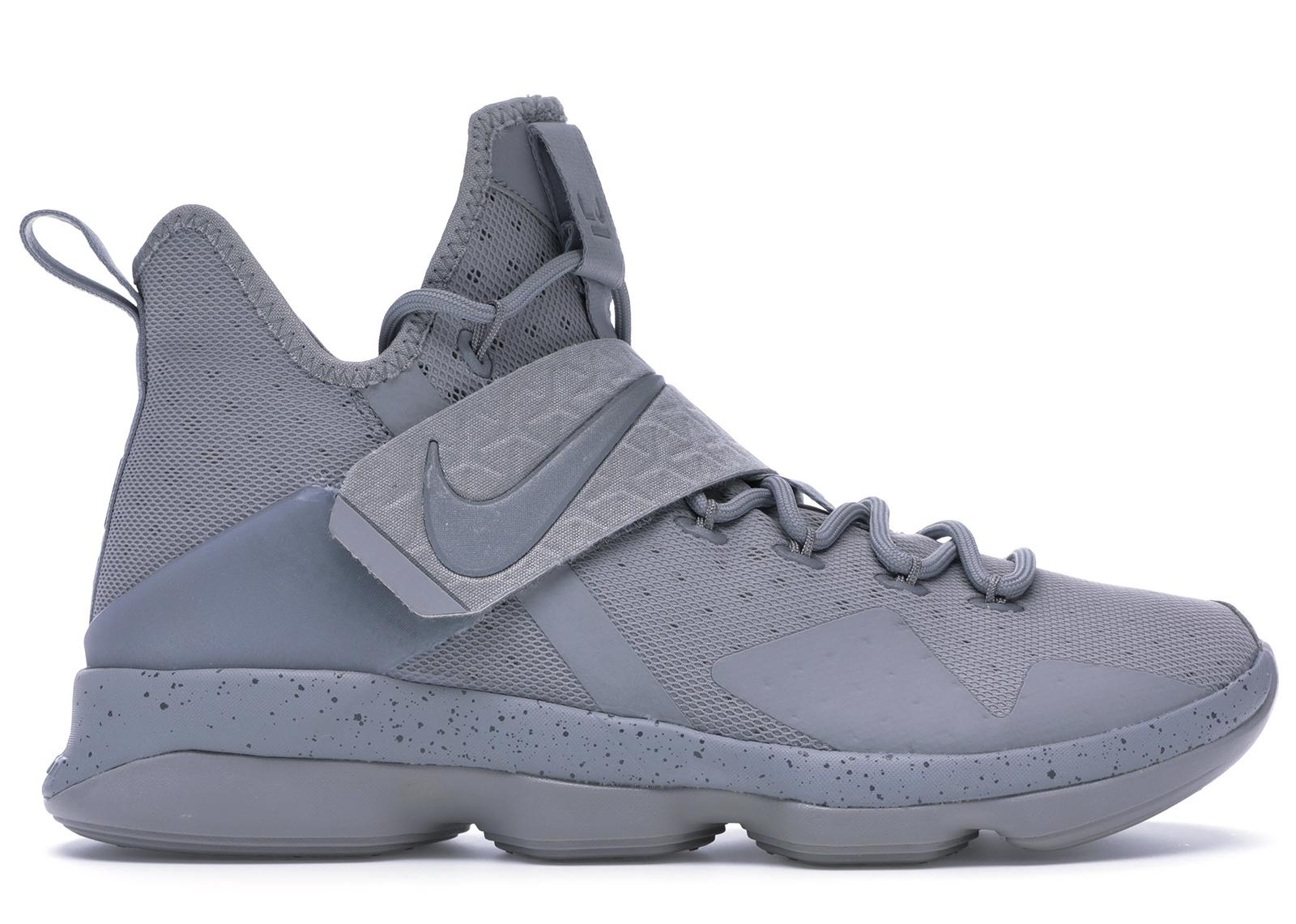 Nike LeBron 14 Silver - 852405-007