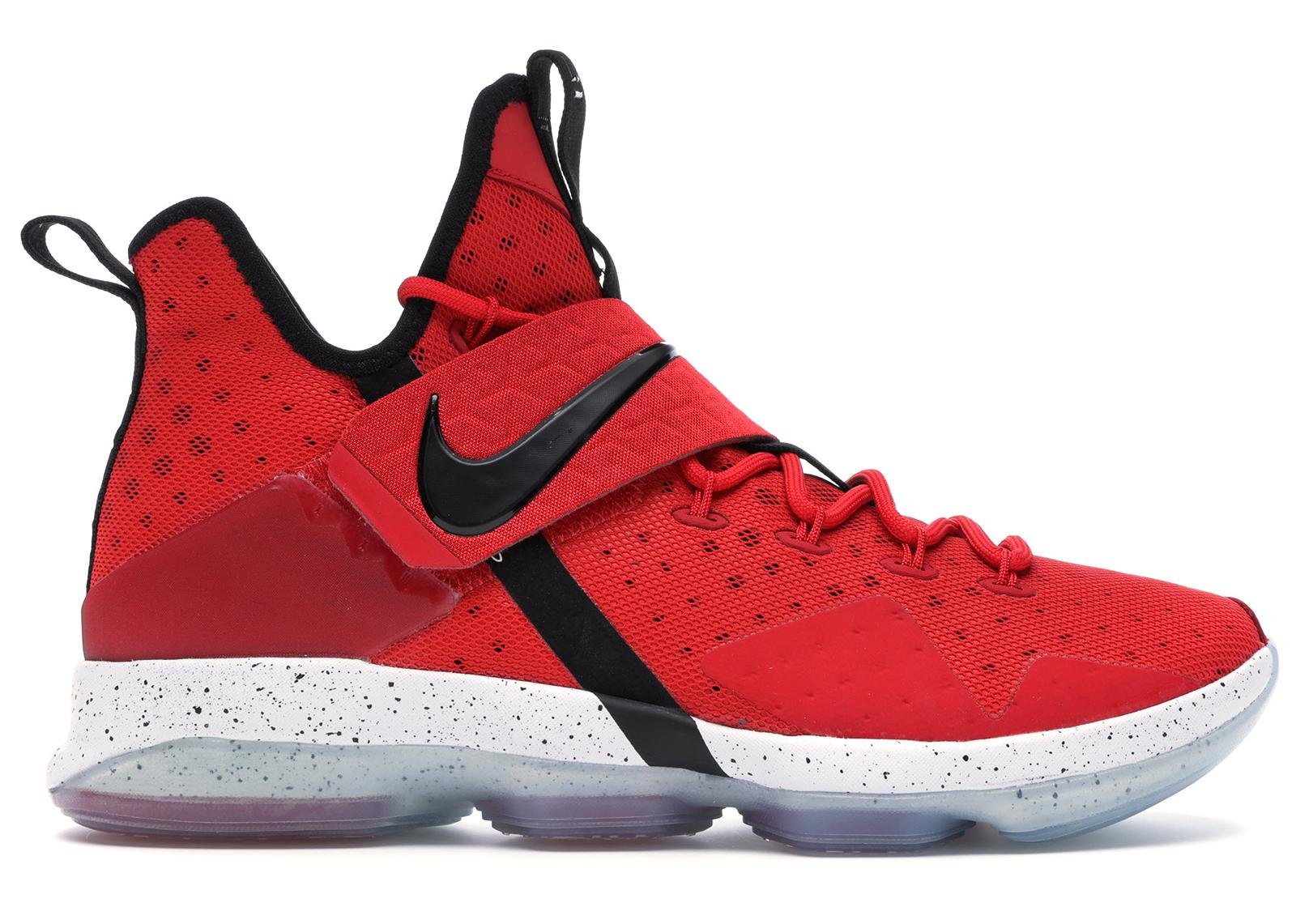 Nike LeBron 14 University Red - 852405-600