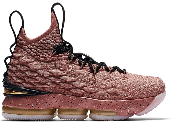 official photos 30b42 f7294 LeBron 15 Rust Pink (GS)