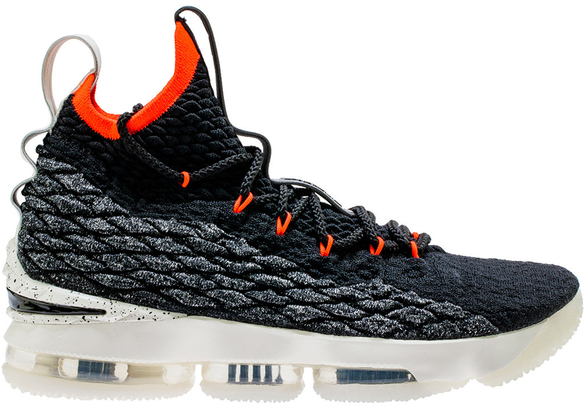 LeBron 15 Black Bright Crimson